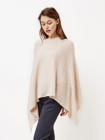 Product thumbnail of Women's Cable Knit Poncho