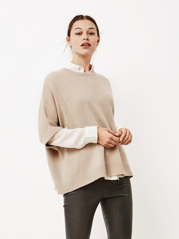 Product thumbnail of Women's Chunky Knit Poncho
