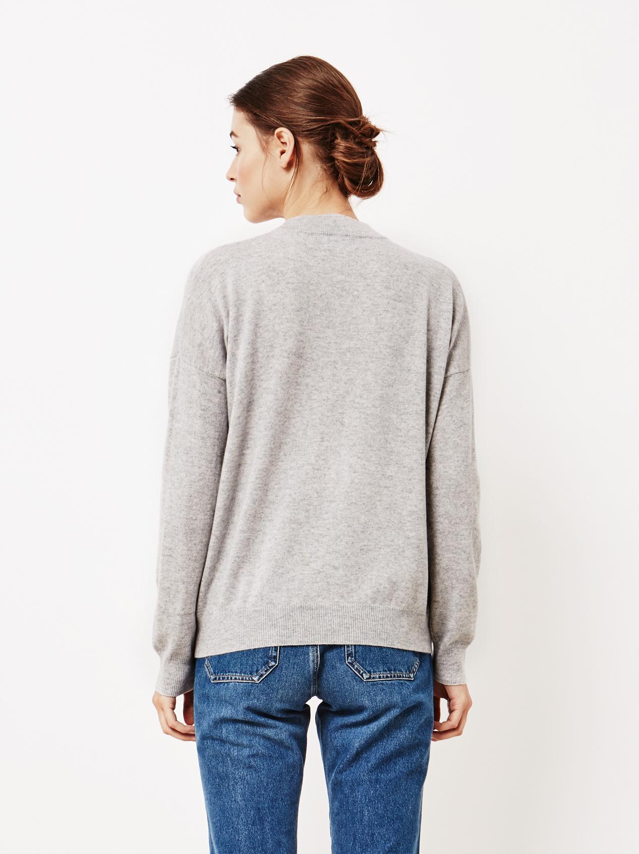 Soft Goat Women's Short Oversize Light Grey