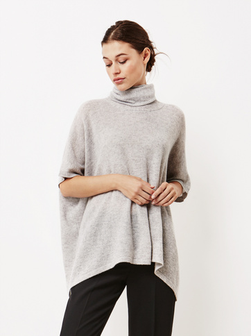 Product thumbnail of Women's Lightweight Turtle Neck Poncho