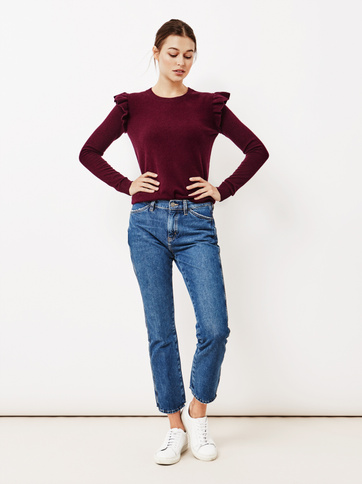 Product thumbnail of Women's Ruffle Shoulder Sweater