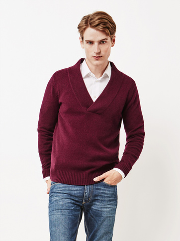Product thumbnail of Men's Chunky V-neck Sweater